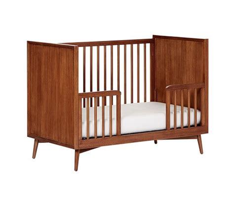 west elm crib west elm x pbk mid century toddler bed conversion kit