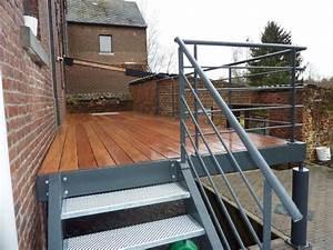 Terrasse Metallique Suspendue : ferronnier esneux ferdeco ferronnerie d 39 art de b timent ~ Dallasstarsshop.com Idées de Décoration