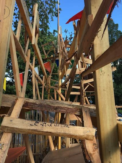 diy adventure playground creative constructions  wood
