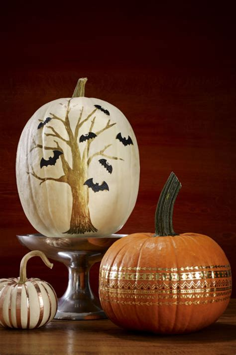 unique  creative halloween pumpkin carving ideas