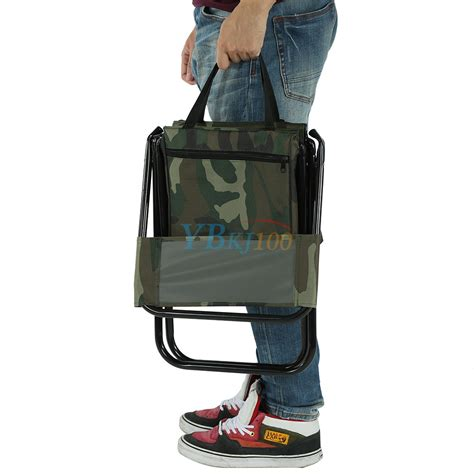 Stool Backpack - 2 in 1 folding fishing stool backpack seat chair