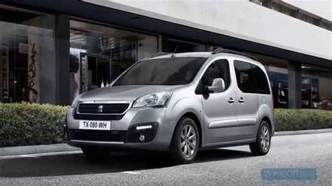 Peugeot Partner Tepee by 2016 Peugeot Partner Tepee Pictures Information And