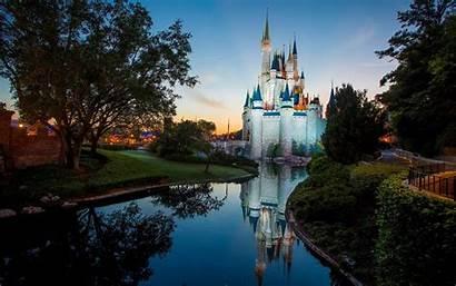 Disney Castle Walt Disneyland Wallpapers Pixelstalk