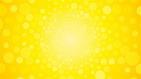 Background Yellow Rotating Bright Yellow Background With Circles Summer Sun