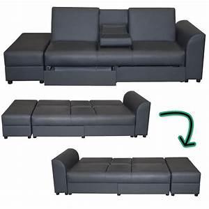 Couch Überzug : sofa cairo schlafsofa klappsofa kunstleder couch ~ Pilothousefishingboats.com Haus und Dekorationen