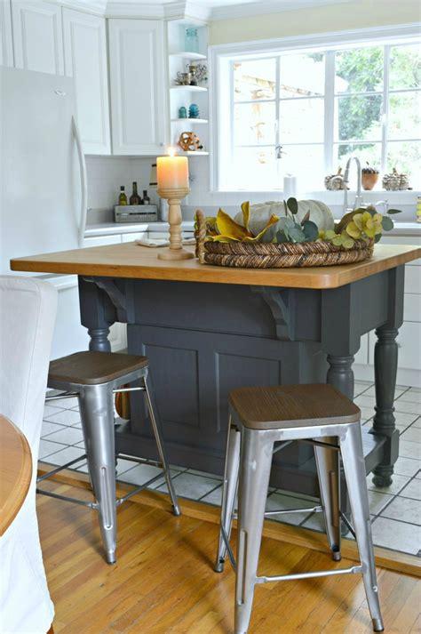 wrought iron kitchen island easy kitchen island makeover 1664