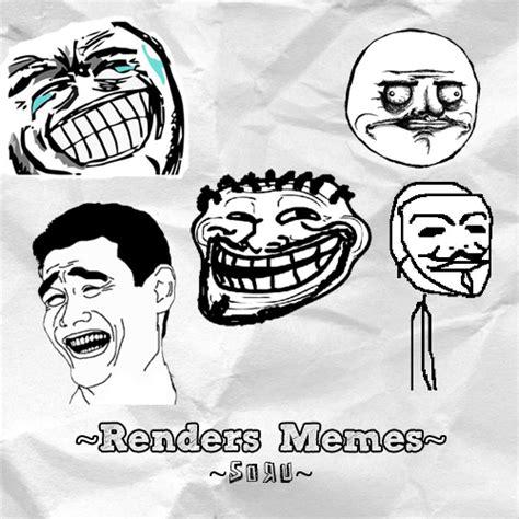 Xd Memes - renders memes xd by sorudesigns on deviantart