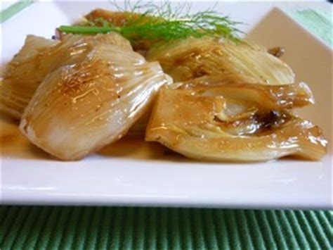 cuisiner un gigot d agneau fenouil braisé plat du jour recettes de cuisine