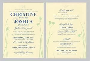 double sided wedding invitations sunshinebizsolutionscom With 2 sided photo wedding invitations