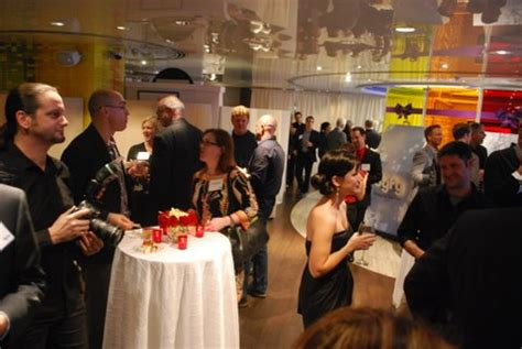 Inside Syfy's Christmas Week Cocktail Party Attention
