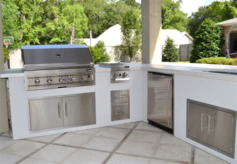 Outdoor L by The Northshore Quot L Quot Shaped Outdoor Kitchen Kit