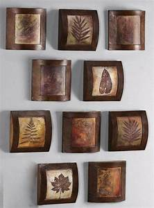 Fossil collage wooden wall art home decor catalog