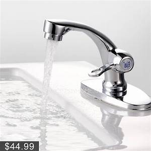 Modern filtering cold water only bathroom sink faucet for Is bathroom tap water drinking water