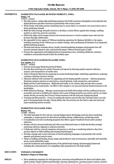 Job Resume India