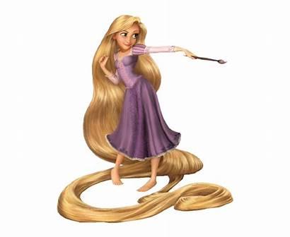 Rapunzel Tangled Disney Transparent Princess Walt Clipart
