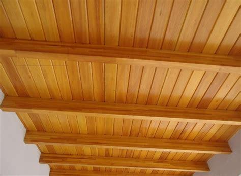 foto techo de maderacon machimbrado de reformas lercos
