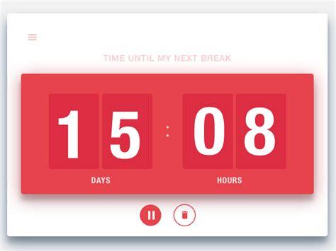 dailyui  countdown timer countdown timer countdown
