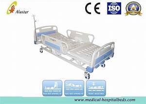 Ce Approved Abs Side Rail Hospital 3 Crank Manual Nursing