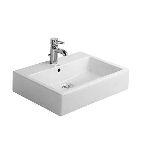 duravit vero basin 600 duravit vero white 600 x 470mm 1 tap basin 0454600000