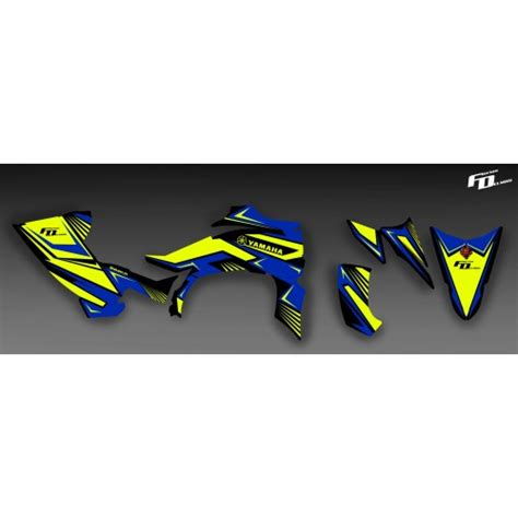 kit deco moto perso kit d 233 co 100 perso pour yamaha 450 yfz r idgrafix