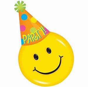 Amazon.com: Smiley Face Party Hat Design Invitations - 8 ...