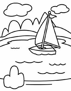 Top 10 Lake Coloring Pages For Your Little Ones | Motor ...