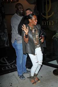 TICHINA ARNOLD at Catch LA in West Hollywood 06/03/2017 ...