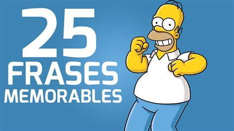 25 Frases Memorables de Los Simpsons YouTube