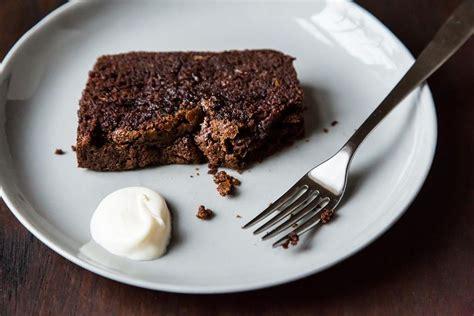 nigella lawsons dense chocolate loaf cake recipe  food