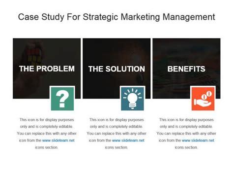 study marketing study for strategic marketing management ppt template