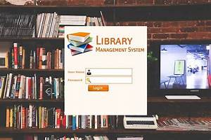 Class Diagram For Library Management System In Software