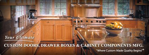 Shaker Kitchen Cabinet made with Red Oak Cabinet Doors and