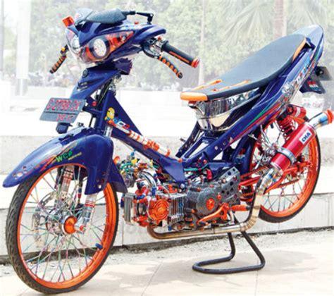 Jupiter Z Thailand Look Style modifikasi yamaha jupiter z burhan burung hantu terbaru