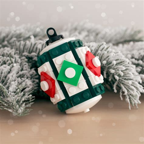 lego christmas decorations   build  girly