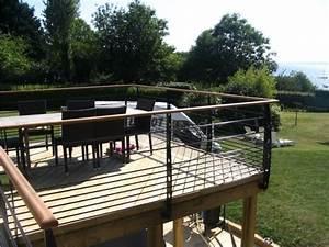 Bois Pour Terrasse Extérieure : 17 best images about terrasse on pinterest gardens ~ Dailycaller-alerts.com Idées de Décoration