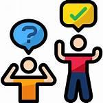 Pregunta Icono Gratis Iconos Organisation Question Analogs