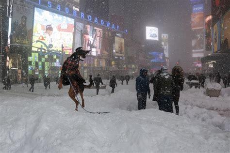 Jonas Snow Storm New York 2016