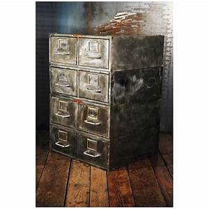 Meuble Industriel Vintage : meubles industriels ancien lyon mobilier d usine pas cher meuble d atelier style industriel vintage ~ Nature-et-papiers.com Idées de Décoration