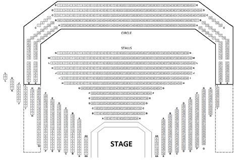 Seating Chart Winter Garden Theater