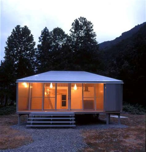 small home design ideas metal clad house  wood interior