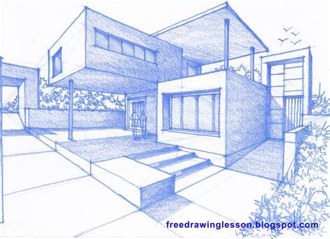 Haus Perspektivisch Zeichnen by Perspective Drawing And Sketching Zeichnen 252 Bungen