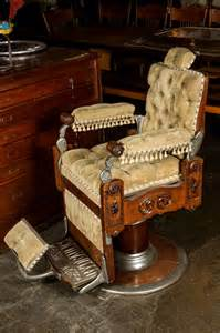 restored 1800s barber chair by kochs image 4 images frompo