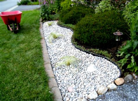 gravel designs landscaping with rocks and mulch home decorating ideas tips rock gravel homelk com