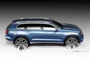 Volkswagen 7 Places : detroit 2013 vw crossblue concept 7 places dans un touareg ~ Gottalentnigeria.com Avis de Voitures