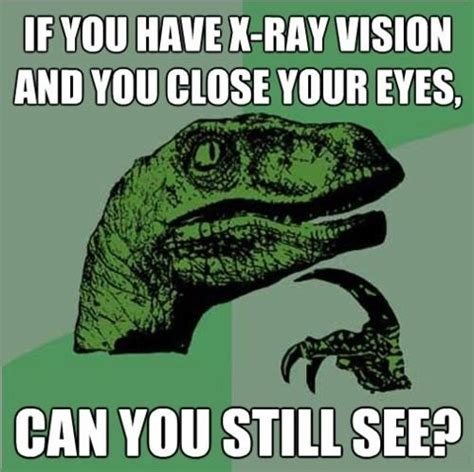 Thinking Dinosaur Meme - thinking dinosaur questions x rays pictures photos and images for facebook tumblr pinterest