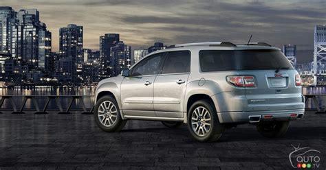 gmc acadia denali review editors review car news
