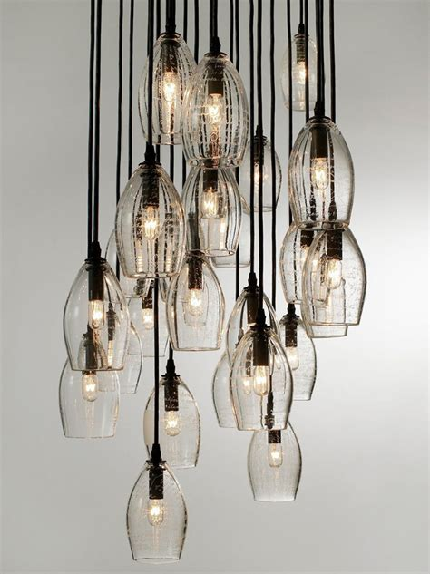 contemporary chandeliers    statement