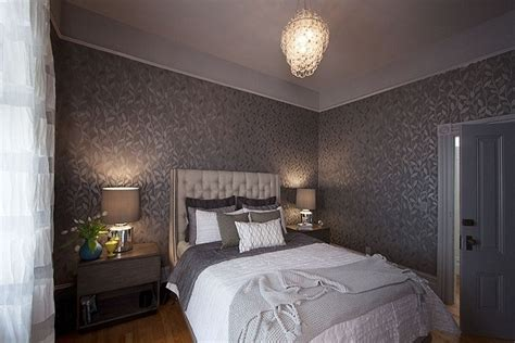 Tapete Schlafzimmer Grau by Bedroom Wallpaper Grey 4 Decoration Inspiration