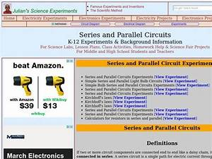 Series And Parallel Circuits Lesson Plan For 7th