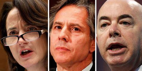 joe bidens cabinet nominees president elect